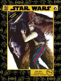 Miniserie 1: Han Solo & Chewbacca Collector's Pack Incl. Art-Print