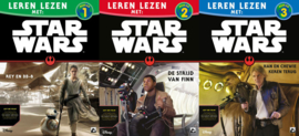 Leren lezen met Star Wars, niveau 1 + 2 + 3
