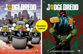 Judge Dredd, De geschiedenis van de gerechtigheid SC COMPLEET