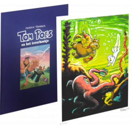Tom Poes en het toverboekje 4 HC Luxe Editie