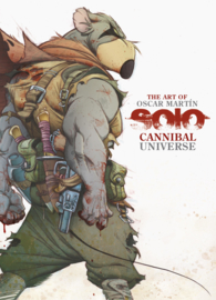 Solo Cannibal Universe Art Book UITVERKOCHT