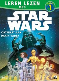 Leren lezen met Star Wars, niveau 1, Ontsnapt aan Darth Vader UITVERKOCHT