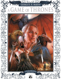 A Game of Thrones boek 7-9 Hardcover Collector's Pack (oplage 100st)