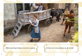 Leren lezen met Belle en het Beest, niveau 2, Een beetje meer...
