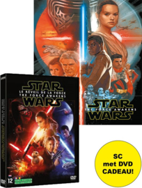 Star Wars Filmboek, Episode VII - The Force Awakens SC + DVD cadeau!