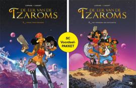 De eer van de Tzaroms 1+2 Voordeelpakket