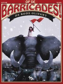 Op de Barricades 1, de rode olifant HC