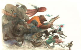 Caurette Art-Book, The BESTiary  VERWACHT AUGUSTUS