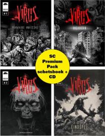 Virus 1-4 SC Premium Pack + Schetsboek + CD VERWACHT OKTOBER