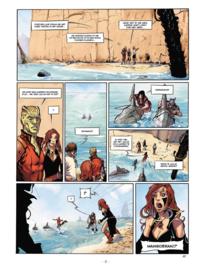 Angor 3, Het eiland met het heiligdom