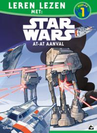 Leren lezen met Star Wars, niveau 1, AT-AT aanval