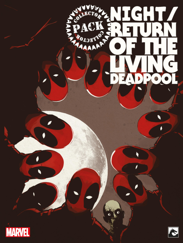 Deadpool (Night/Return) of the living Deadpool Collector Pack