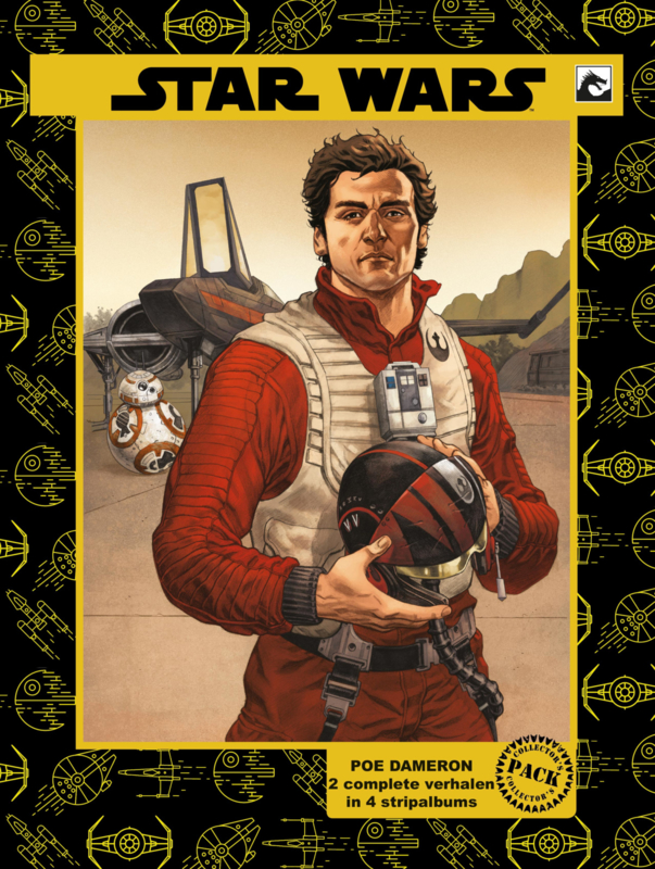 Miniserie 4: Star Wars Poe Dameron  Collector's Pack UITVERKOCHT
