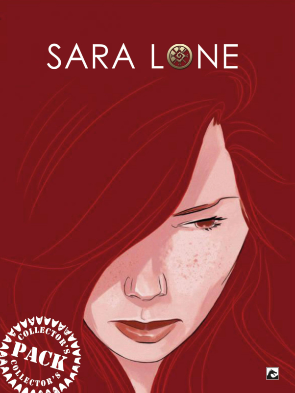 Sara Lone compleet Collector's Pack UITVERKOCHT