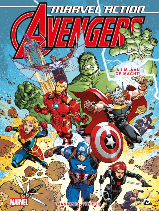 Marvel Action Avengers 4 A.I.M aan de macht