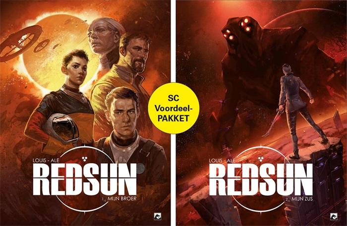 Red Sun 1 en 2 voordeelpakket COMPLEET