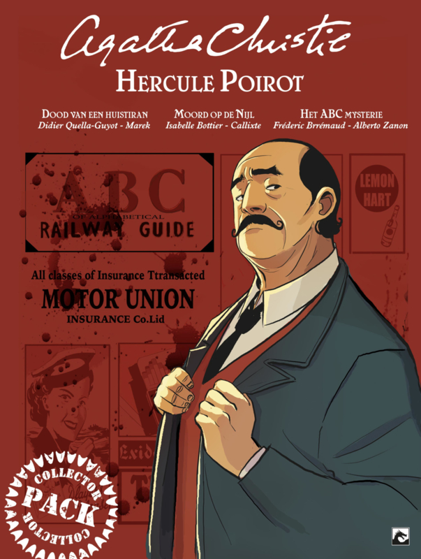 Agatha Christie softcover collector Pack 2 Poirot