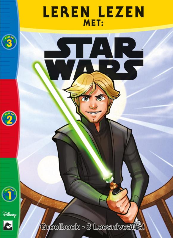 Leren lezen met Star Wars Groeiboek Pack 1
