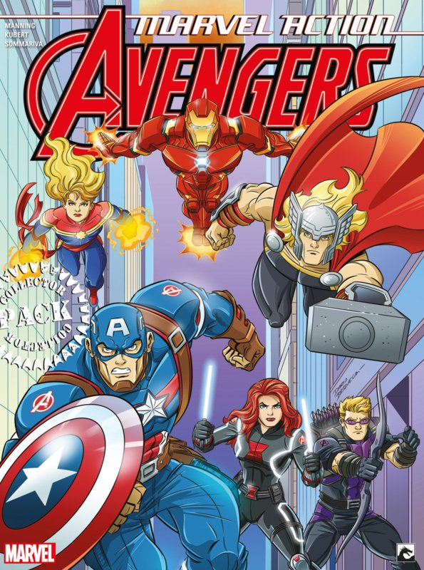 Marvel Action Avengers 1-3 Collector Pack VERWACHT APRIL