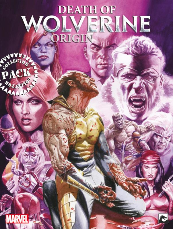 Wolverine Origin/Death of Compleet Collector's Pack