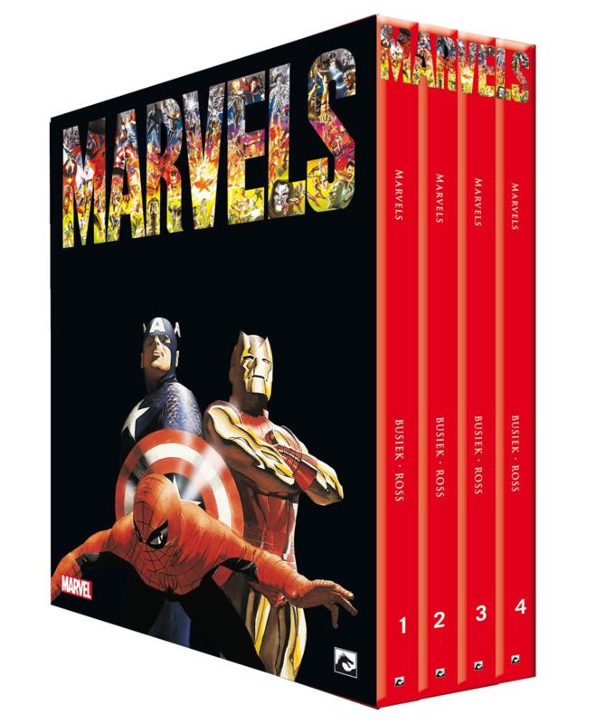 De Marvels van Kurt Busiek & Alex Ross compleet in luxe verzamelbox