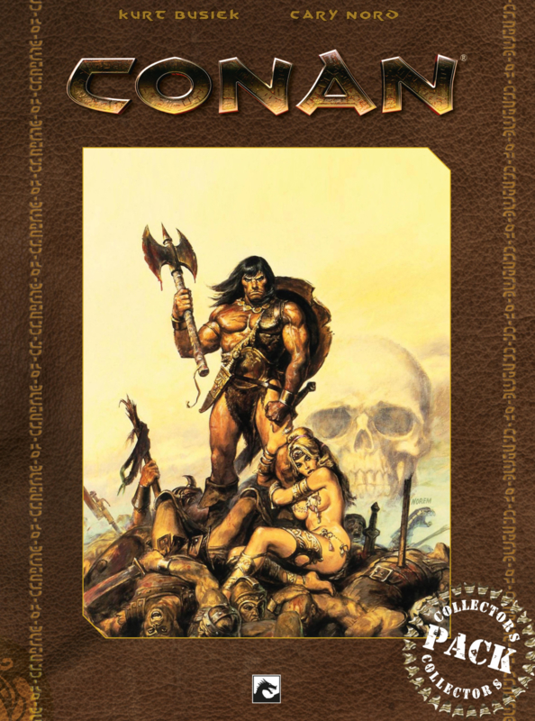 Conan 1-2-3 Collector Pack 2 COMPLEET