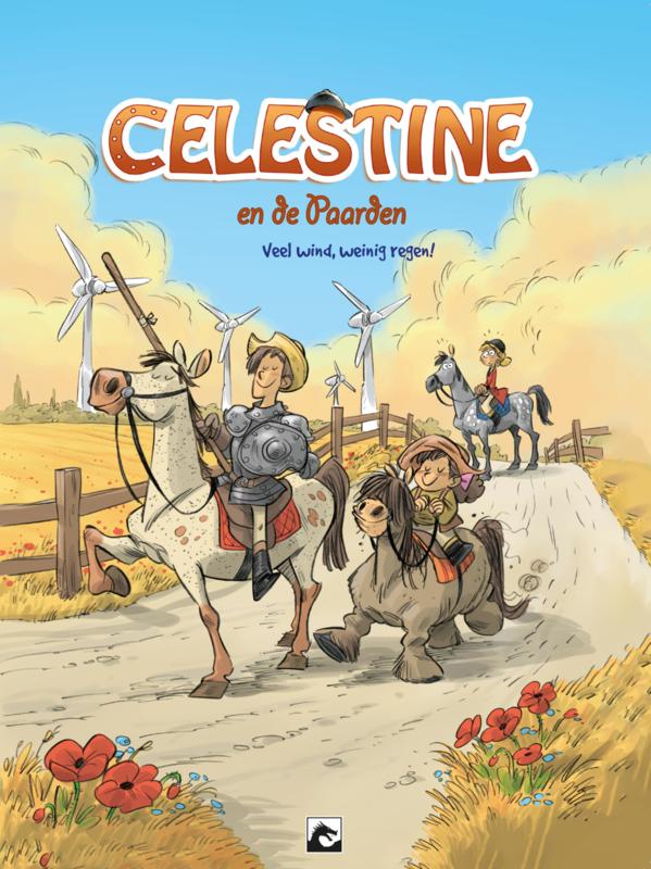 Celestine en de paarden 7, Veel wind, weinig regen!