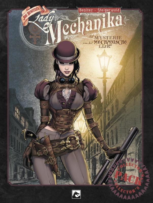 Lady Mechanika, Het mysterie van het mechanische lijk Collector's Pack