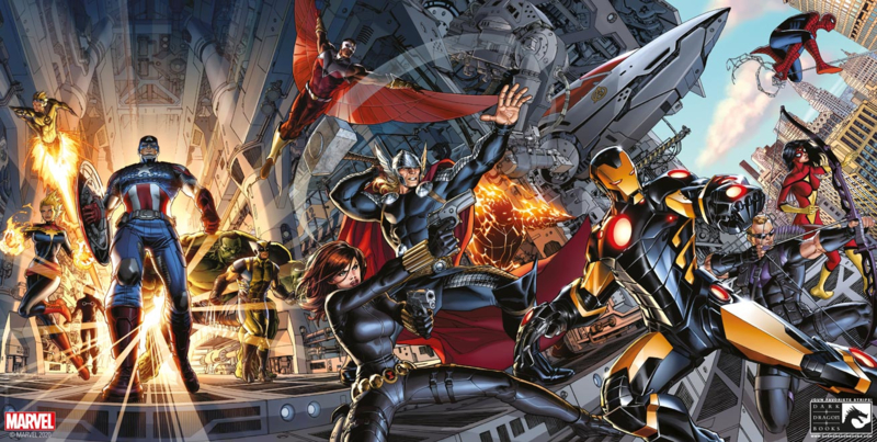 Avengers, Journey to inifinity 3+4 Premium Pack