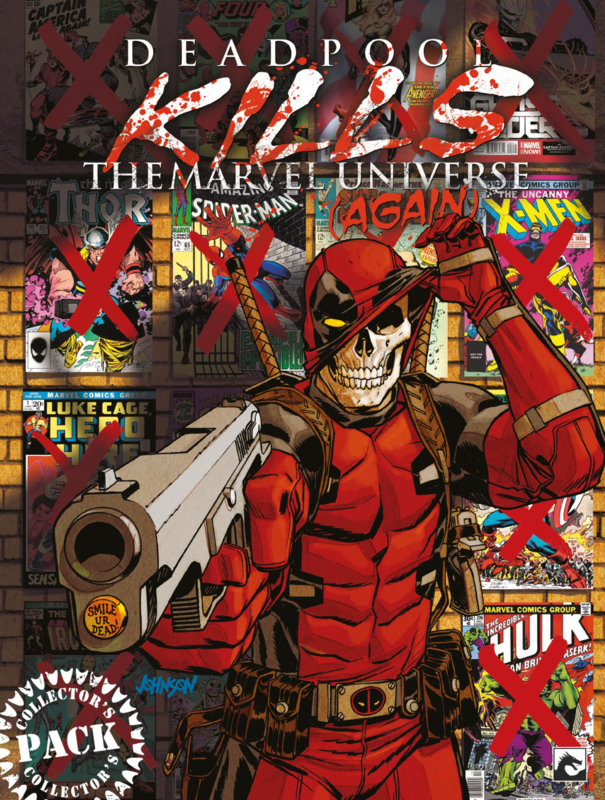 Deadpool Kills the Marvel Universe (Again) Collector's Pack