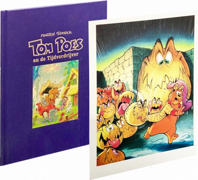 Tom Poes en de tijdverdrijver 10 HC Luxe editie