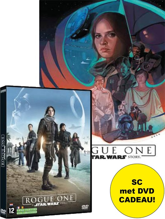Star Wars Filmboek, Rogue One SC met DVD cadeau!