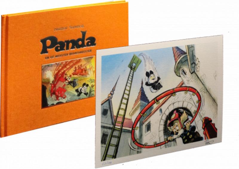 Panda en de meester-brandmeester HC LUXE