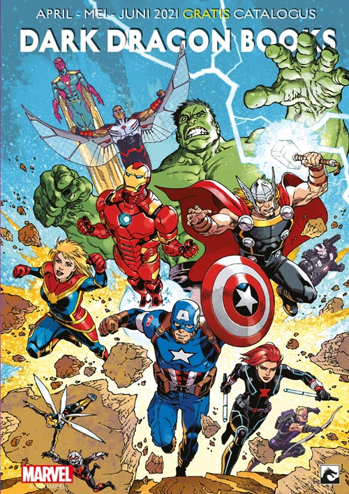 MARVEL & DC catalogus april - juni 2021