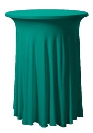 Tischhusse Grandeur Rund Grün