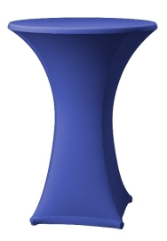 Stehtischhusse Samba Blau