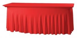 Tischhusse Grandeur 183 x 76 cm Rot