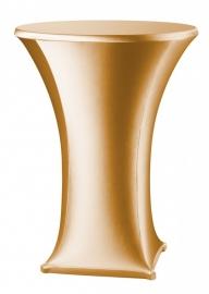 Stehtischhusse Samba Gold Modell A