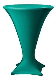 Stehtischhusse Cocktail Grün