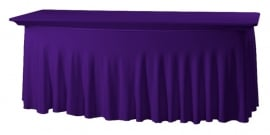 Tischhusse Grandeur 183 x 76 cm Violett