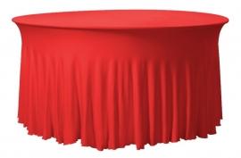 Tischhusse Grandeur Rund Rot