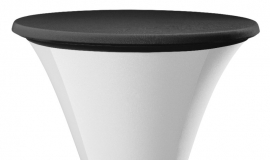 Tischplatten Bezug Easy Jersey Schwarz