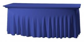Tischhusse Grandeur 183 x 76 cm Blau