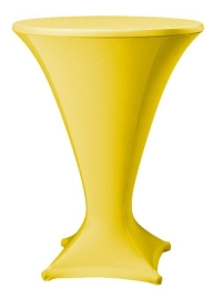 Stehtischhusse Cocktail Gelb
