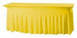 Tischhusse Grandeur 183 x 76 cm Gelb