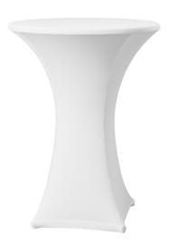 Stehtischhusse Samba Weiß