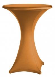 Stehtischhusse Festival Modell A 85 cm Rostgold Angebot!!