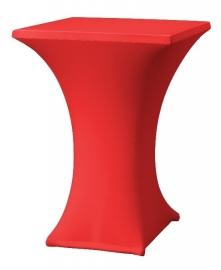 Stehtischhusse Rumba Rot