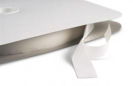Klettband selbstklebend Weiß