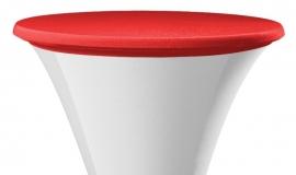 Tischplatten Bezug Easy Jersey Rot